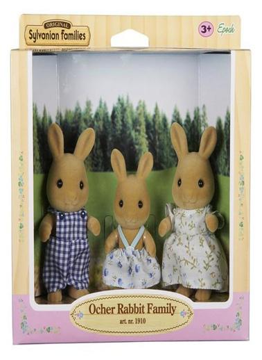 Sylvanian Sylvanian Families Ocher Tavşan Aile Renkli